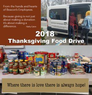 Beacon 2018 Food Drive